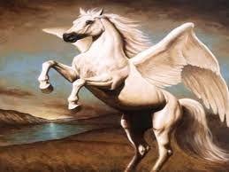 Griekse Mythologie: pegasus