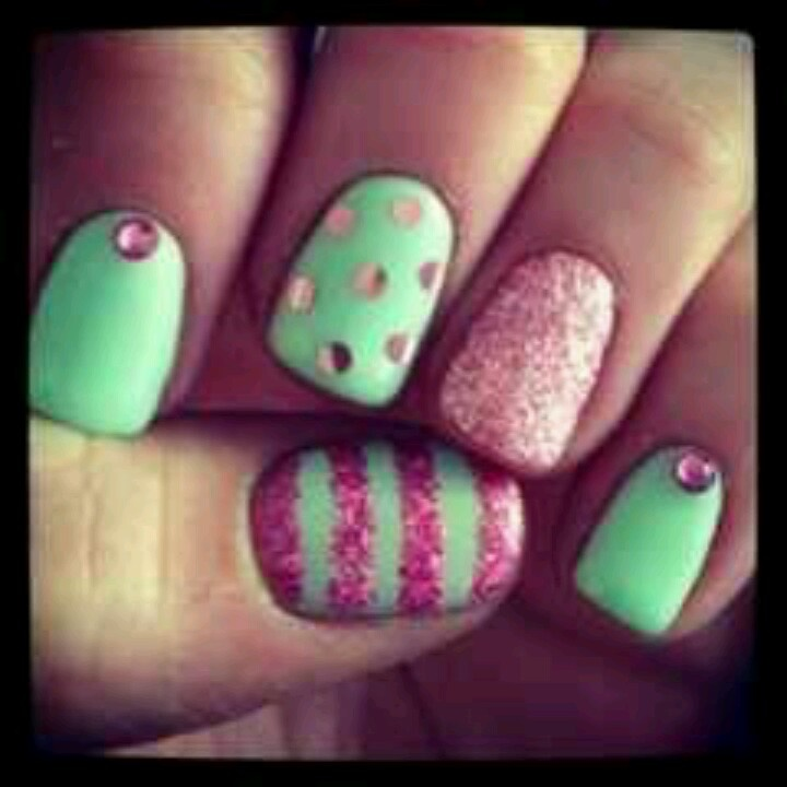 Nail designs pink and green pink and green nail designs re also have nail designs pink and green pink and green nail designs hair styles tattoos prinsesfo Image collections