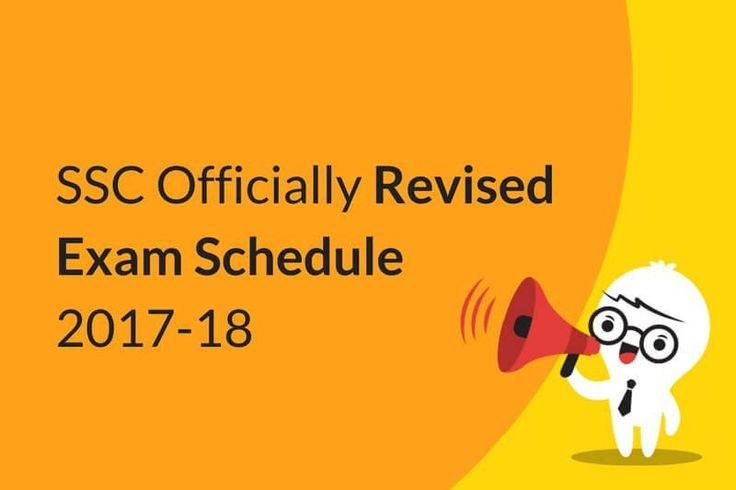 SSC Officially Revised Exam Schedule 2017-18 Released! http://blog.onlinetyari.com/ssc/ssc-officially-revised-exam-schedule-2017-18 #SSCexamschedule #sscexam2017