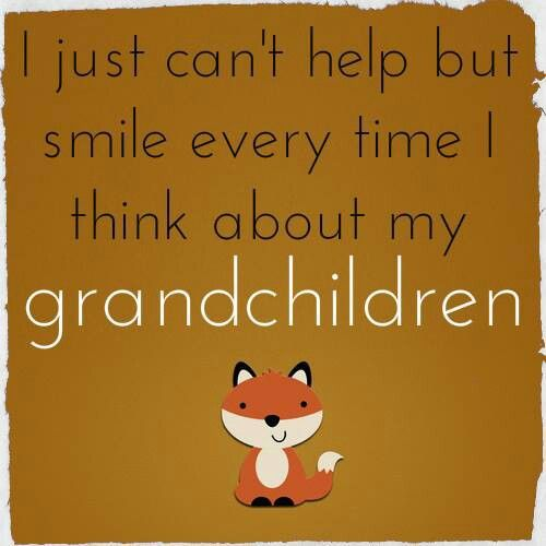 Great quote about grandchildren!
