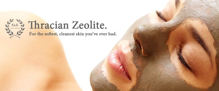 Natural mineral Thracian Zeolite clay detox mask and scrub.