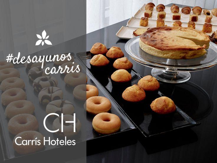 Desayunos dulces en #carrishoteles