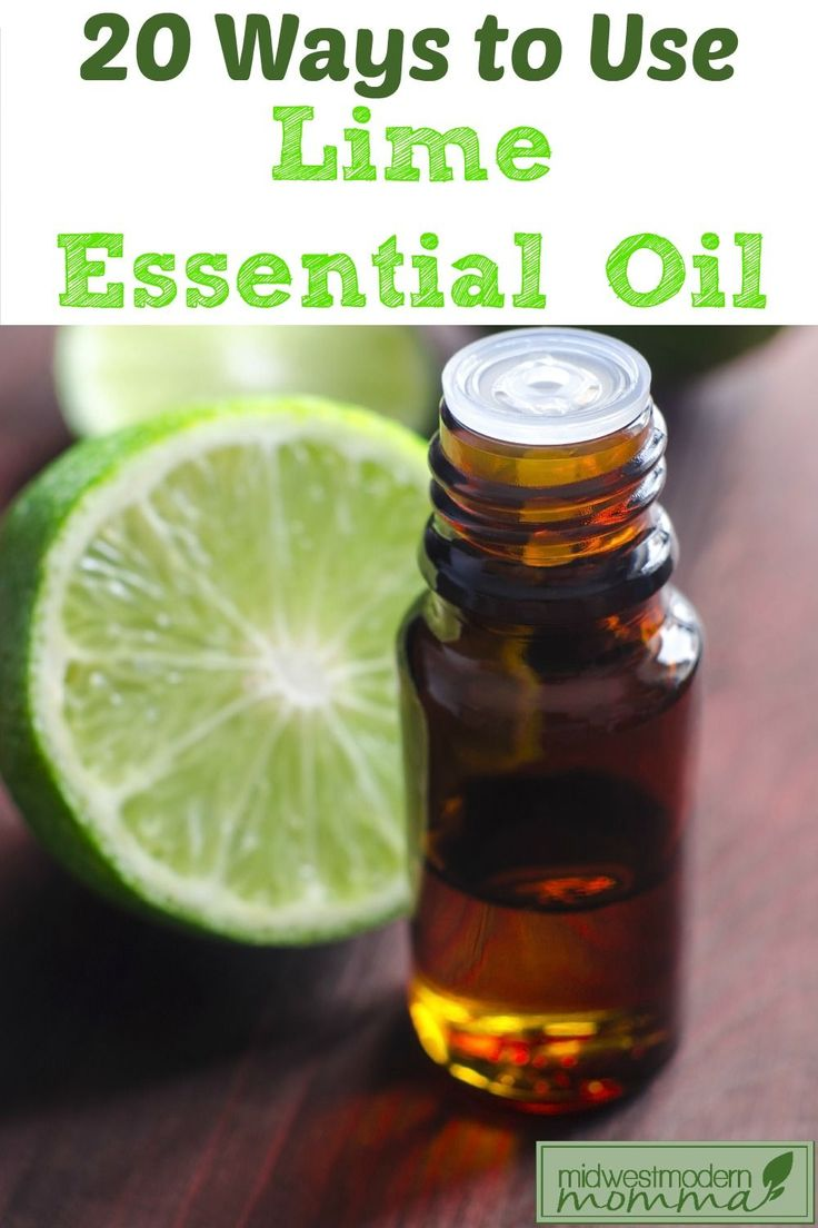 Use lime essential oil to make homemade body products, get rid of adhesive residue, & grow stronger nails! Here are my favorite 20 Lime Essential Oil Uses!