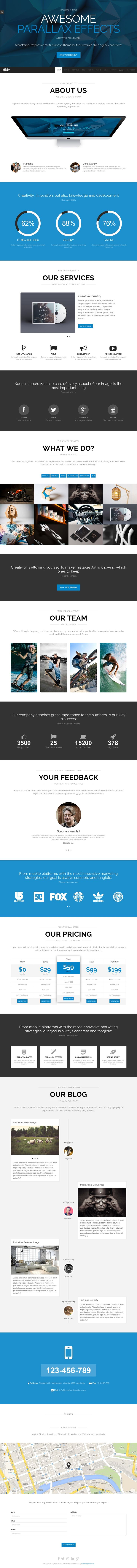 36 Best Best Business Wordpress Themes 2014 Awards Images On