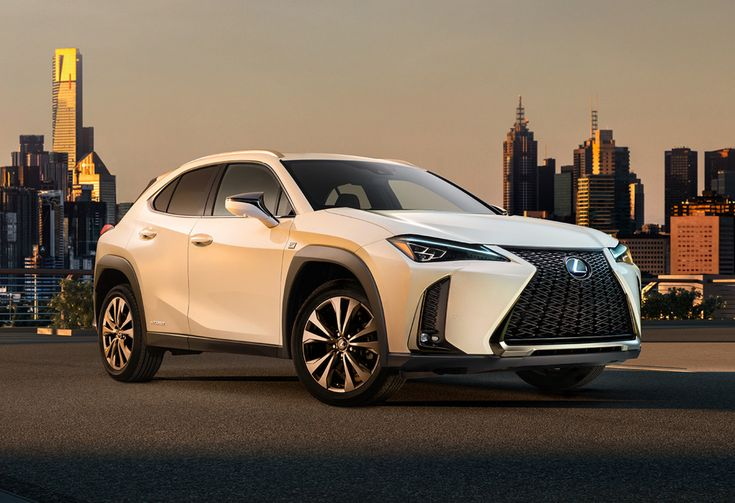 Lexus previews its UX compact crossover.