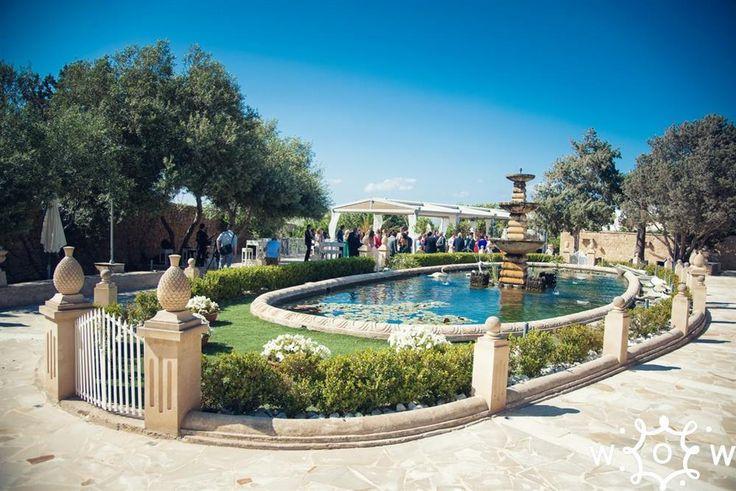 Villa Arrigo Fountain Garden Wedding Venue In Malta