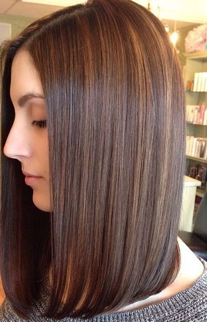 long bob haircuts back view - Long Bob Haircuts – 2015 Women's ...