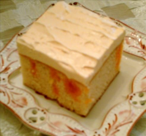 Orange Dream Cake from Food.com: A lighter version of the Creamsicle Cake. We can finally have our cake and eat it too! Can't remember where this originated but I have served this at family dinners without anyone suspecting it was low fat. Made as presented this is 4 points per piece. Cooking time includes chilling time.