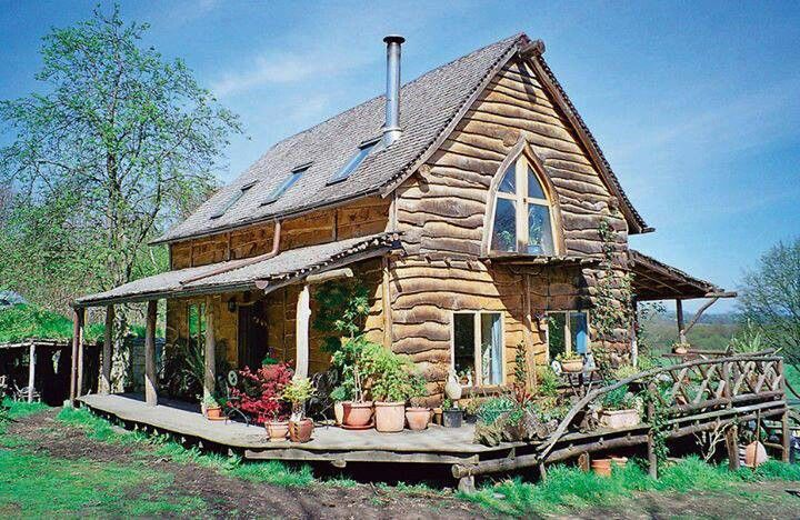 : Cabin, Grand Designs, Law Woodland, Woodland House, Dream House, Cottage, Timber Frames, Timber Frame Houses, Ben Law S