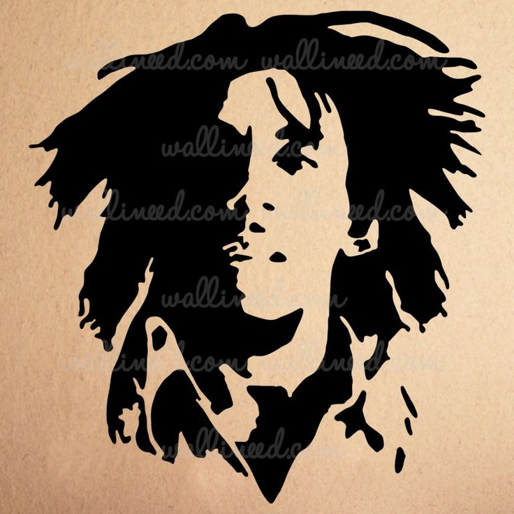 Bob Marley Rasta – Wall Decal
