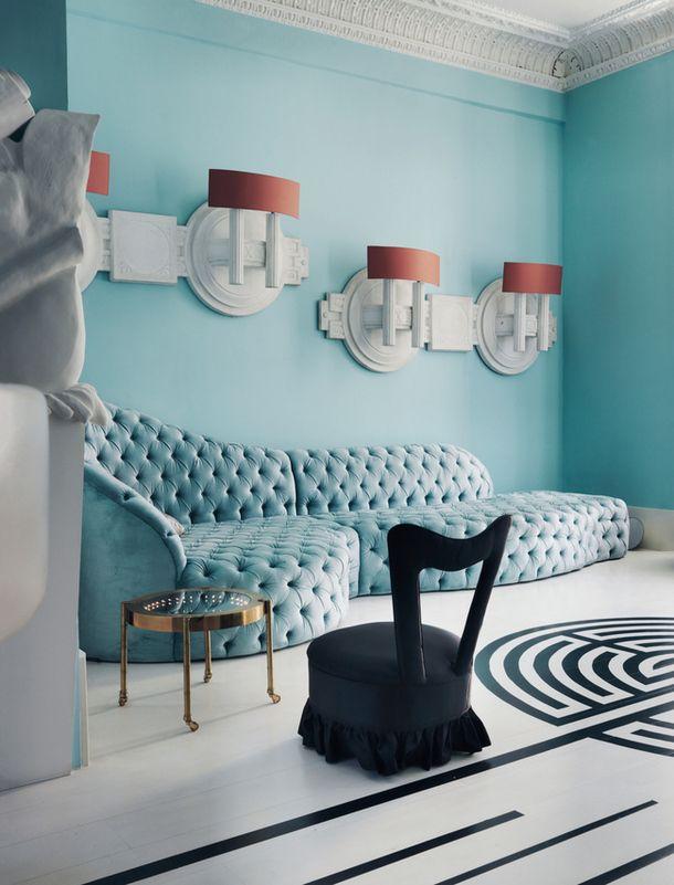 London decorator Danielle Moudaber Decorating 53