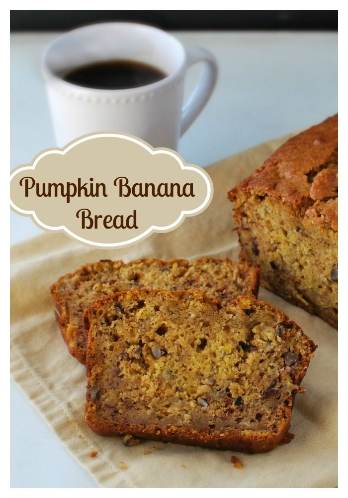 Easy make ahead Holiday Breakfast...Pumpkin Banana Bread. Get RECIPE HERE : http://buttercream-bakehouse.com/2013/11/pumpkin-banana-bread.html