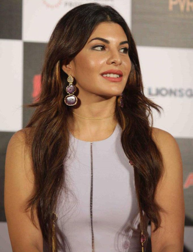 Jacqueline Fernandez at the trailer launch of 'Brothers'. #Bollywood #Fashion #Style #Beauty #Sexy #Hot