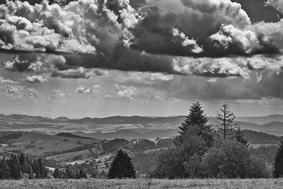 bwstock.photography - photo | free download black and white photos  //  #summer #mountainous #countryside #landscape
