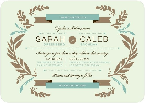 25+ best ideas about jewish wedding invitations on pinterest, Wedding invitations