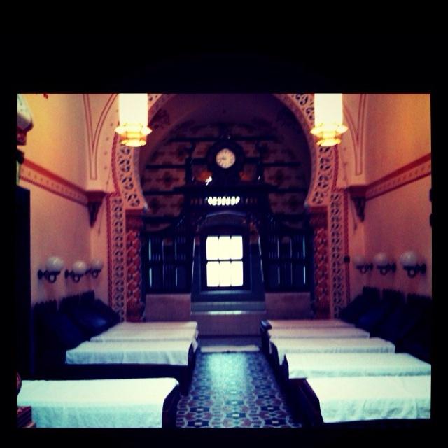 Harrogate Turkish Baths. A slice of Victorian heaven in Yorkshire.
