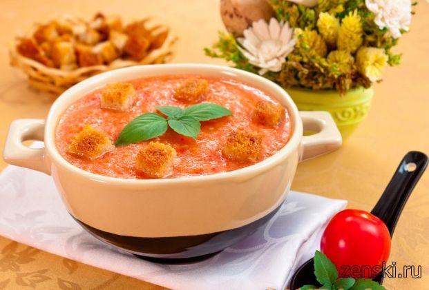 Низкокалорийные супы и салаты