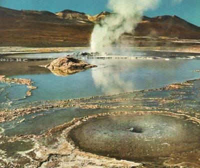 San Pedro de Atacama, Chile geiser
