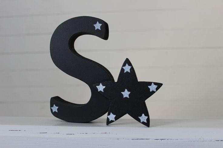 Söt bokstav med en stjärna