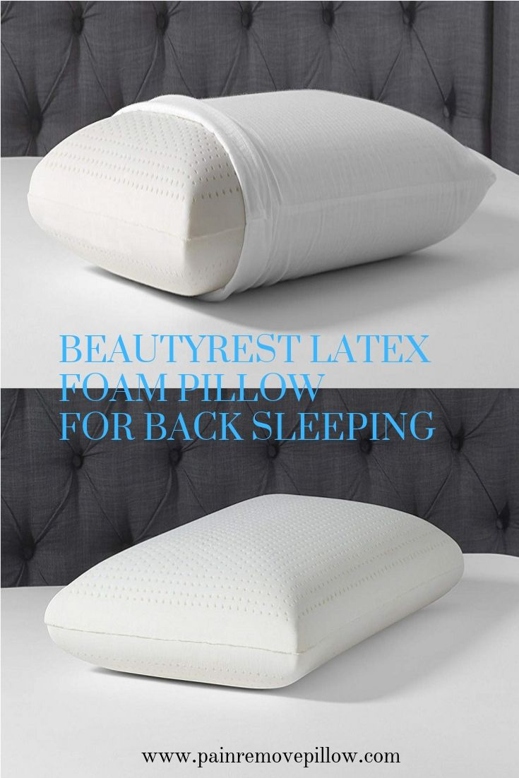 Pin On Best Pillow For Back Sleeping