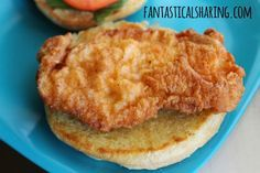 Fantastical Sharing of Recipes: Wendy's Spicy Chicken Filet Sandwich