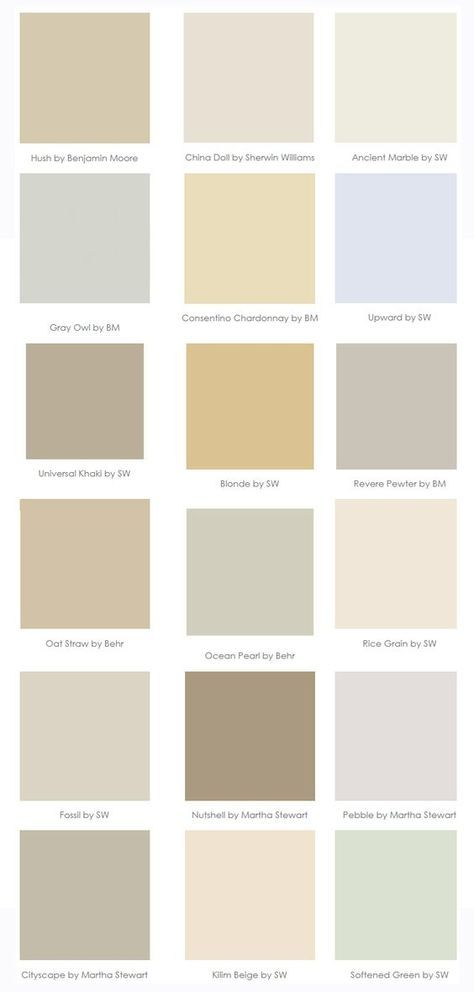 Paint Colors that go with WOOD {trim and cabinets}--great pin, @Heather Creswell Creswell Creswell Pitzer !!! we have 3 stories worth, & i'm not sure i can paint it all!: