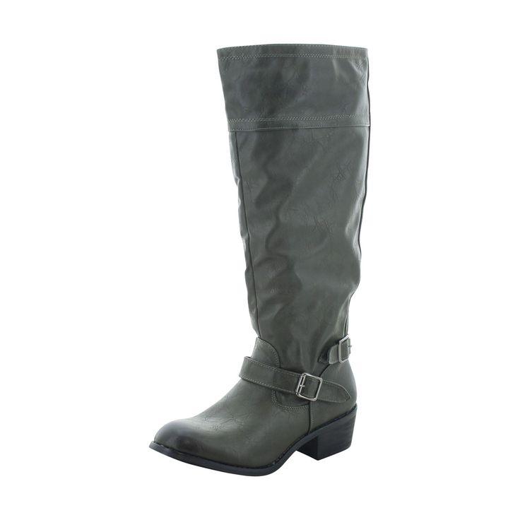 Modern Rush - Women's Western Riding Boot- Olive