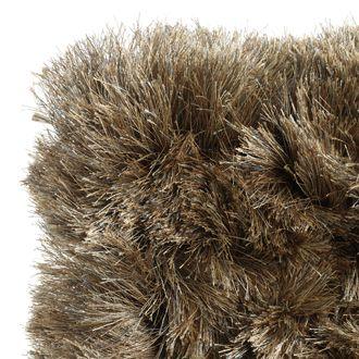 Hoogpolig tapijt bruin