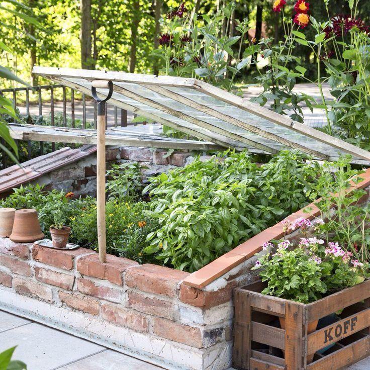 Kleines Gewachshaus Das Auch Als Hochbeet Genutzt Werden Kann Als Auch Gebraucht G In 2020 Gartendesign Ideen Gemuseanbau Gartenbeet