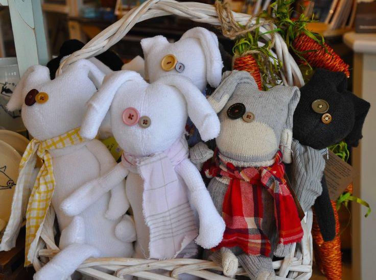 Bunny & Giraffe Stuffed Bunnies