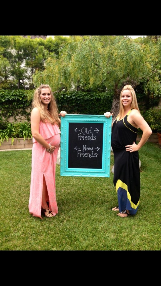 Love this, take a picture with a best friend who is pregnant too! @Katie Parker