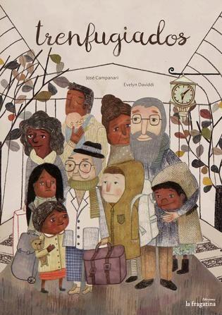 Trenfugiados | Pencil Ilustradores Las guerras, el terrorismo y los desastres naturales provocan movimientos migratorios masivos, como nos cuenta Trenfugiados (La Fragatina). Evelyn Daviddi ilustra un relato de José Campanari