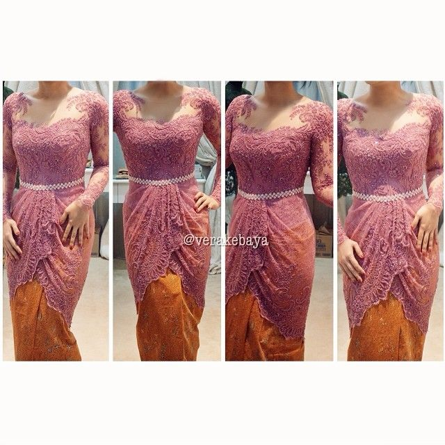 #partydress #midodareni #kebaya #swarovski #lace #verakebaya ❤️❤️❤️ - verakebaya @ Instagram