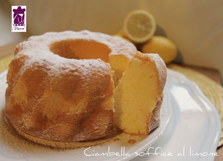 Ciambella+soffice+al+limone