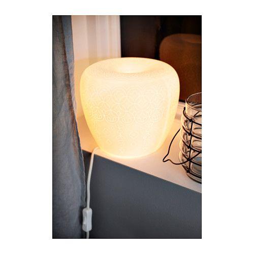 Liter bordlampe ikea ikea pinterest shelves lamps - Lampe table ikea ...