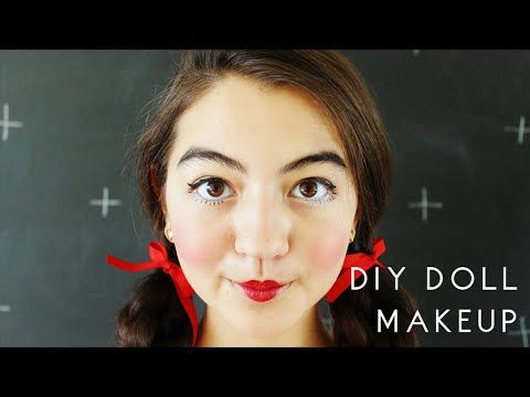 DIY Doll Makeup - YouTube