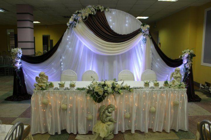 Стоимость на оформление зала на свадьбу-цены на украшение свадебного зала.