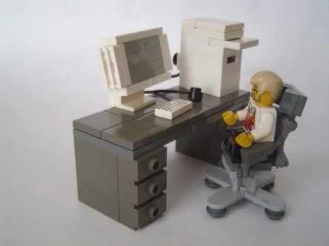 How to make Lego furniture 3 - YouTube