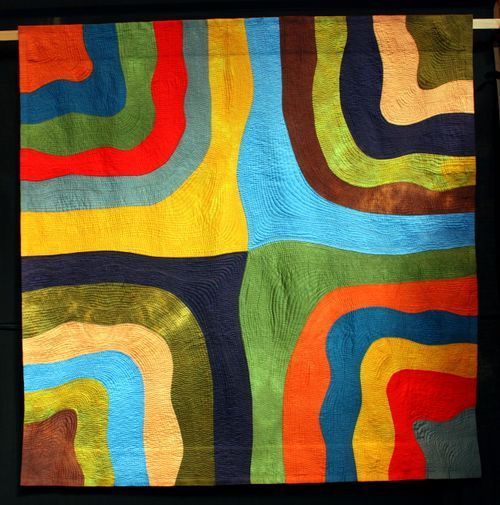 Quilt/   al de quilt-doeken  hier  te zien,     zijn als  hommage aan mijn schone dochter.