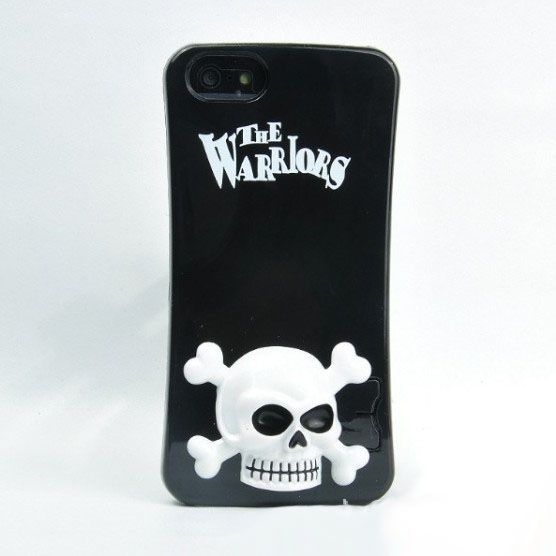 iPhone 5 / 5s Case - Skull Plastic Stand - Nplustwo.com