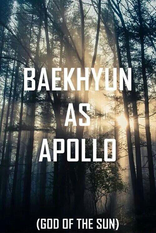 Exo as Greek Gods Baekhyun