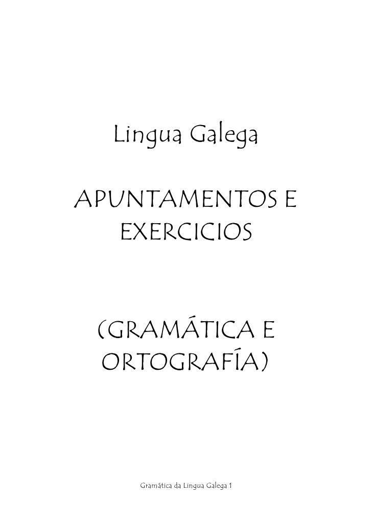 Apuntes Gramatica