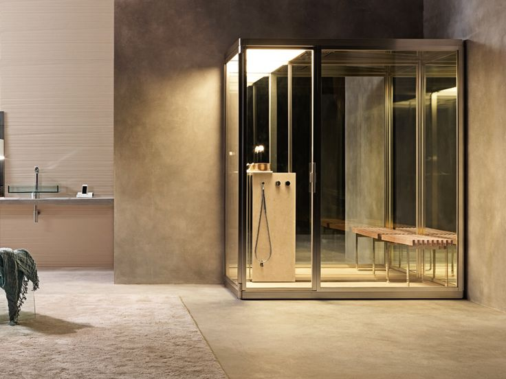 #Topkapi di #Effegibi è un vero #hammam. I marmi di primissima scelta, il vetro, l'acciaio e il legno di teak abbinati in un'unica armonica combinazione di materiali pregiati fanno di ogni Topkapi un pezzo unico. Il vapore è protagonista, l'essenza della tradizione dell'hammam. www.gasparinionline.it - #bagno #wellness #interiors #spa #home #benessere #casa #madeinitaly