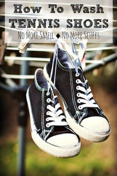 1000 ideas about washing tennis shoes on