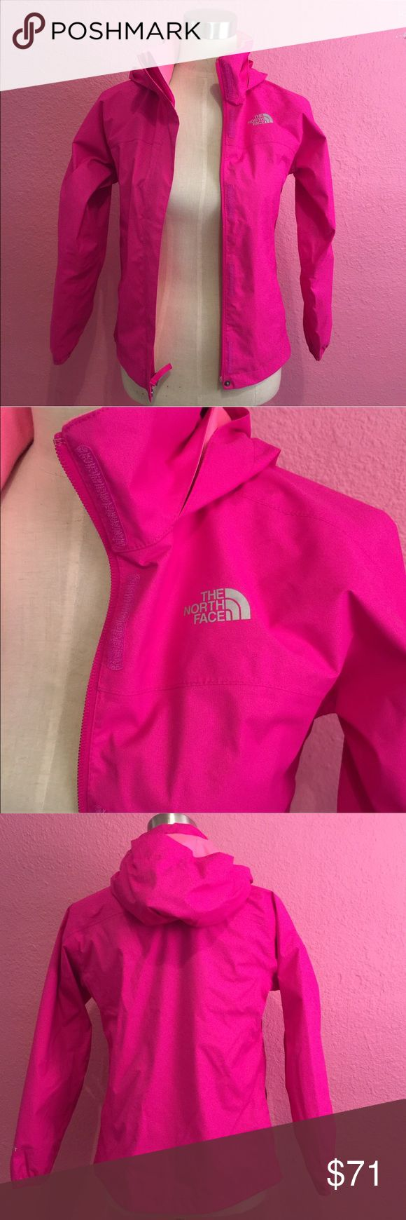 Pink North Face rain jacket. Kids & Mystery items Pink North Face rain jacket.  This listing has been updated.  You will receive this Jacket plus an additional 5 Kids (girls size 10 range) items.    Again, you are purchasing this beautiful jacket and getting the bonus 5 items. The North Face Jackets & Coats Raincoats