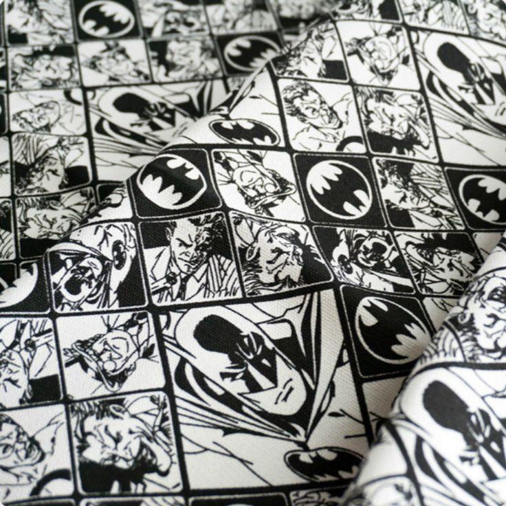 90x140 cm/lots 1 Yard Zwart wit Batman en Joker Gedrukt Comic Polyester Katoenen Canvas Stof naaien Doek in SIZE: 90X140 CM     van stof op AliExpress.com | Alibaba Groep