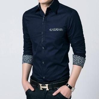 Mens Shirt with Pocket Details