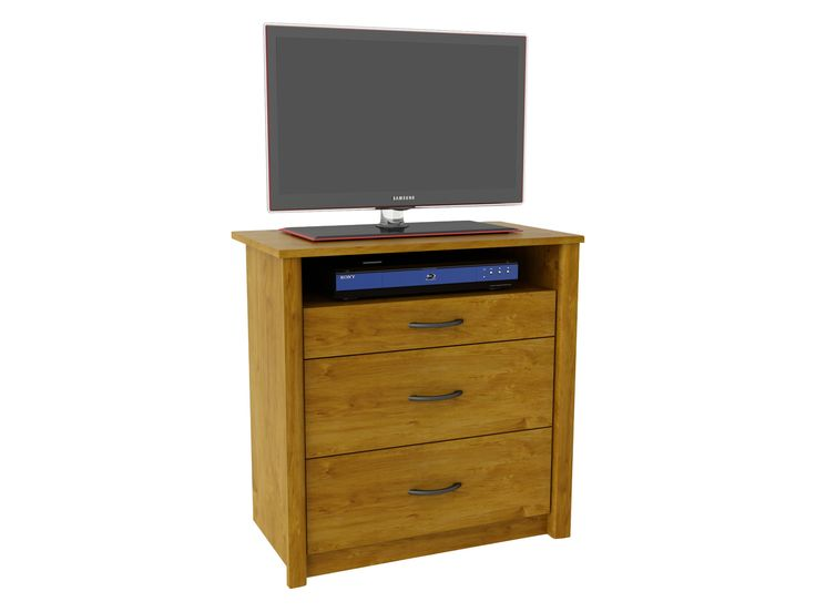 Danforth 3 Drawer Media Dresser
