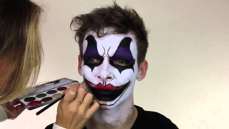 Maquillaje de payaso diabolico