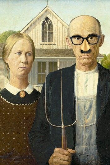 What American Gothic should've been..